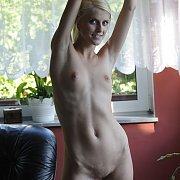 Thin Arms Slender Blonde Kasia