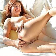 Ass Fingering Young Lady On The Sofa