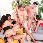 Six Way Couple Swap Orgy With DP