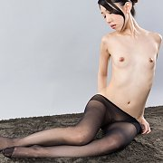 Tiny Tits Japanese Teen In Pantyhose