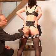 Emily Sharpes Stockings Spankings And OTK