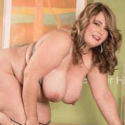 BBW CJ Woods Leads You Up The Stairs To Heaven