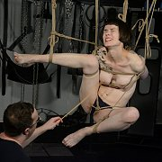 Rope Tied Suspension With Caning
