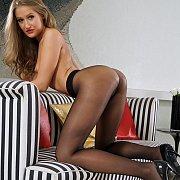 Tiffany Tatum In Sexy Nylons