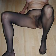Pantyhose Amateur Lady On The Floor