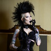 Tattooed Deathrock Babe