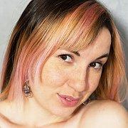 Brown Eyes Erotic Gal With Freckles