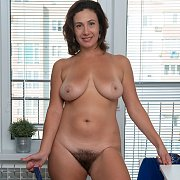 Hairy Milf Pussy On A Busty Woman