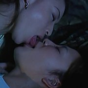 Asian Lesbian Seduction With Strapon Sex