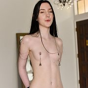 Tiny Boobs Young Skinny Nude With Nipple Bells