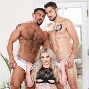 Draven, Dante, And Kay Love Both Cock And Pussy