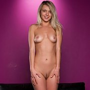 Blonde Nude Fantasy With A Cute Smile