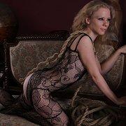 Fantastic Bodystocking Lingerie On Pretty Lady