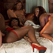 Black Ladies In Group Interracial Anal Sex