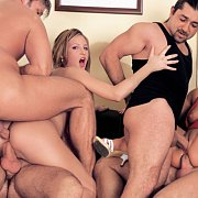 Wild Anal Group Action Orgy