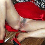 Milf Flashing Her Sheer Pantyhose Crotch