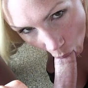 Busty Blonde Milf POV BJ