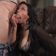 Raven Haired Big Boobs Milf With Tan Lines Fucked
