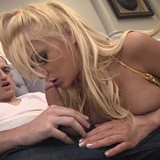 Hot Blonde Goes BJ Crazy