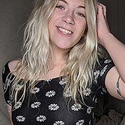 Blonde Cam Girl Promos