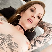 Tattooed MILF Penny Archer Is Covered In Cum