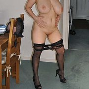 Naked Big Boobs Milf In Her Stockings