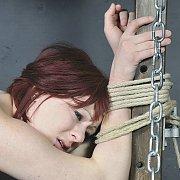 Submissive Isabel Deans Hogtied Bondage