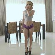 Blonde Petite Asian Girl Fucked