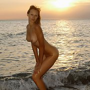 Stunning Erotic Nude Fantasy At Sunset