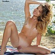 Tan Lines Petite Fantasy Outdoors Nude
