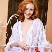 Young Russian Lingerie Strip