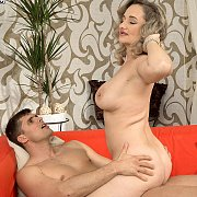 Milf Cougar Gets Younger Man