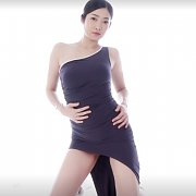 Hot Asian Babe Teasing