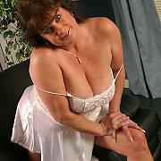Lacey Silk Lingerie Mature