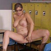 Older Spanish Teacher Masturbates In Class