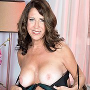 Mature Woman Stripping Naked