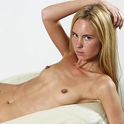 Skinny German Teen With Freckles And Flat Tits