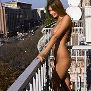 Nude Teen Juliya On A Balcony